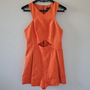 Topshop cut out style sleeveless romper